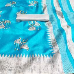 Rekha Maniyar kalamkari khadi silk saree