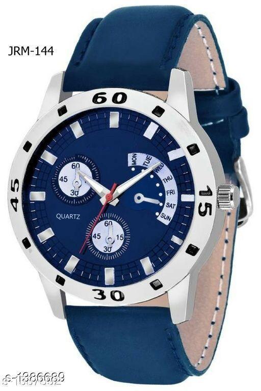 Stylish Analog Leather Watch