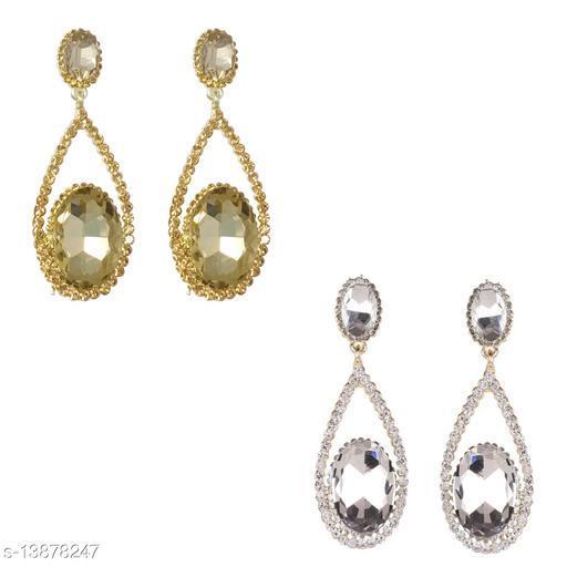 Glass Drop Earrings combo set for Women & Girls