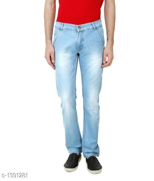 Denim Solid Men's Jean