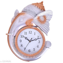 BIG BANG CREATIONS Ganesha Designer Wall Clock