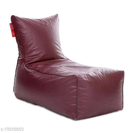 Style Homez Alexa Luxury Lounge XXXL Bean Bag Maroon Color Cover Only
