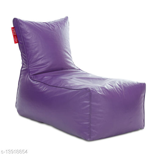 Style Homez Alexa Luxury Lounge XXXL Bean Bag Purple Color Cover Only