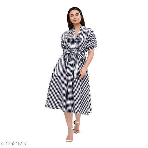 American crepe stylish party wear dress
