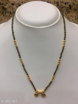 Women's Alloy Gold Plated Mangalsutras
