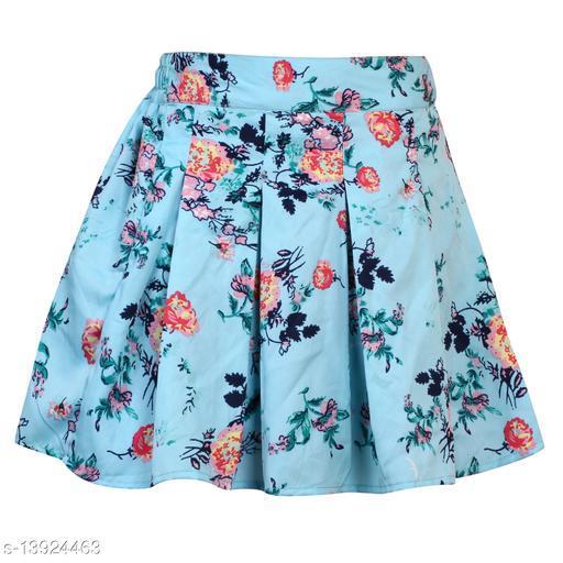 Alisha Moda Girl's Knee Length Skirt