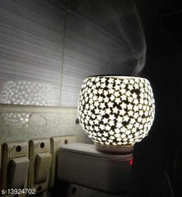 Kapurdani with Night Lamp_White