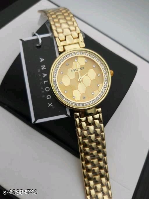 KU Women Gold Best Dial analog Watch