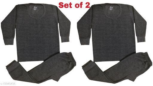 NI Kids Unisex Thermal/ Winter Wear/ Warmer Set (2 Sets)