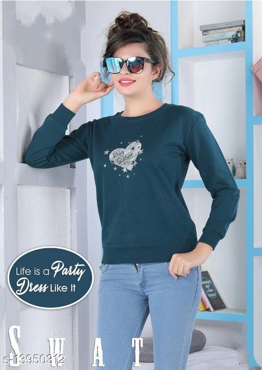 Pretty Elegant Women Sweatshirts
