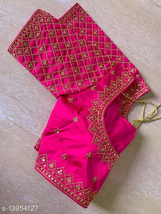 PARTY WEAR STITCHED BLOUSES