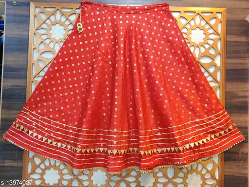 Kota Doriya Double Flair Skirt
