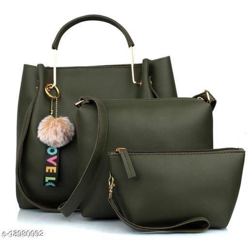 Attractive Women's Black Handbag