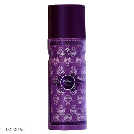 Fragrance & Deodorants WEDDING DEODORANT WEDDING DEODORANT Sizes Available: Free Size *Proof of Safe Delivery! Click to know on Safety Standards of Delivery Partners- https://ltl.sh/y_nZrAV3   Catalog Name: DEODORANT CatalogID_2767379 C52-SC1304 Code: 643-13989169-