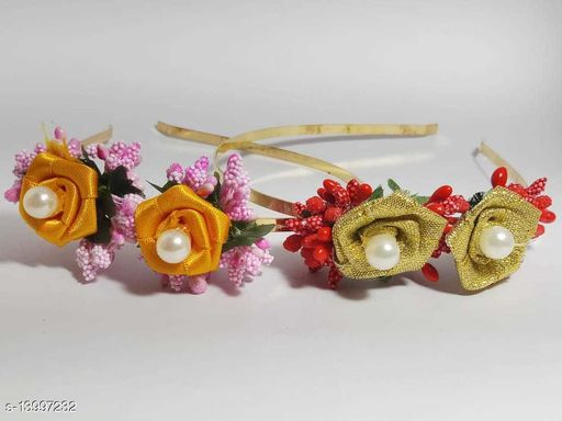 Princess Collection Floral Hairband Combo