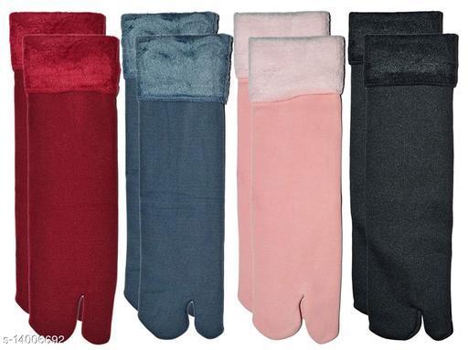 Eastern Club Fashionable Modern Women Socks pack of 4