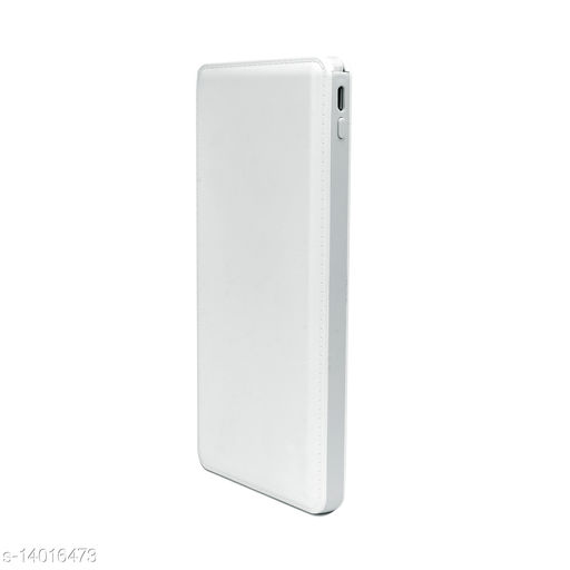 HBNS 10000mah Power bank Slim Leather IC45 with Li-Polymer Battery with Micro USB Connector