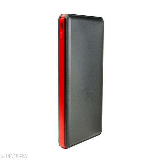 MAXIM Li-Polymer Battery 10000mah Slim Leather IC45 Power bank with Micro USB Connector