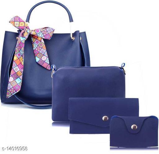 Women PU Leather hand Bag (Combo of 4)
