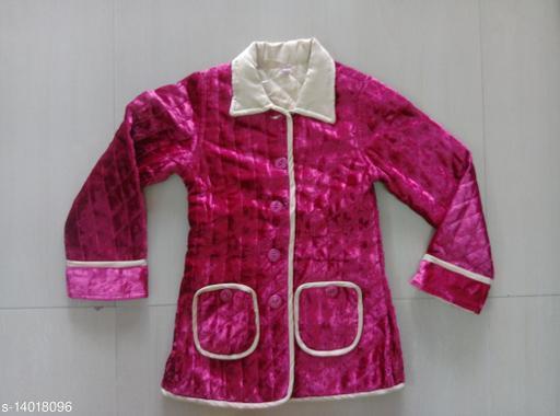 Kid's Velvet Jacket