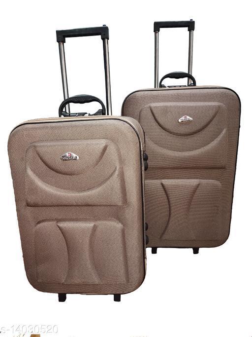 Stylish Men's Brown Trolley Bags