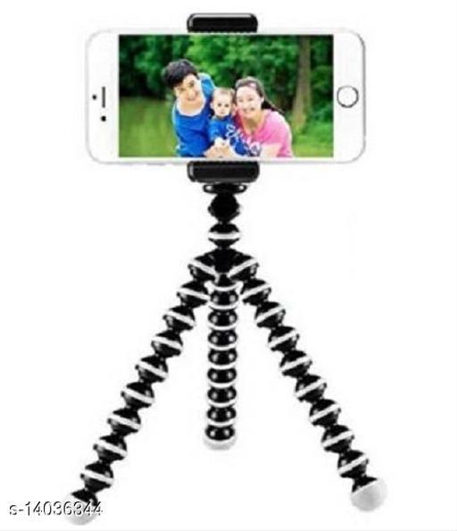 MedFest® 10 Inch Gorilla Tripod with Mobile Holder for Mobiles DSLR & Action Cameras (Supports upto 1.5 KG)