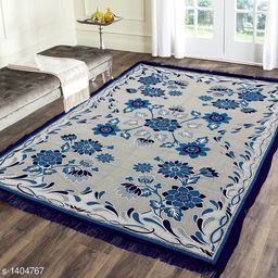 Premium Cotton Printed Room Carpet