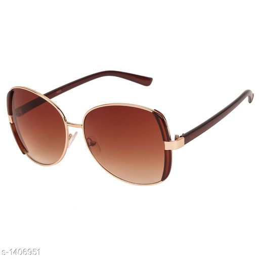 Sunglasses Classy Women's Sunglass Material: Metal Size: Free Size Description: It Has 1 Piece Of UV Protected Women's Sunglass Country of Origin: India Sizes Available: Free Size *Proof of Safe Delivery! Click to know on Safety Standards of Delivery Partners- https://ltl.sh/y_nZrAV3  Catalog Rating: ★4.3 (467)  Catalog Name: Classy Women's Sunglasses Vol 16 CatalogID_182254 C72-SC1084 Code: 853-1406951-
