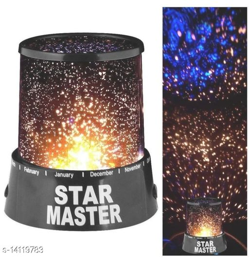 Star Master Projector LED Night Lamp Gizmos Star Projector Sky Lantern with USB Wire Turn Any Room Into A Starry Sky