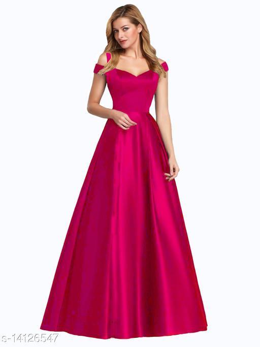 Elegant Western Gown