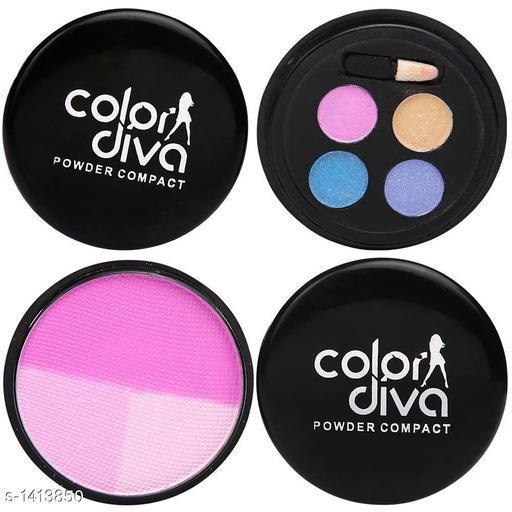 Makeup Kits Premium Choice Standard Makeup Kit Combo  *Product Name* Color Diva Eye & Face Makeup Combo Set Of 2, C-535  *Product Type* Makeup Kit combo  *Product Description*