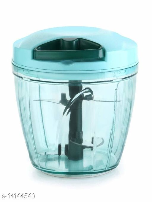 Jumbo Vegetable Chopper Cutter with Mixer for Kitchen, 5 Steel Blades + Whisker/Egg Beater Blade