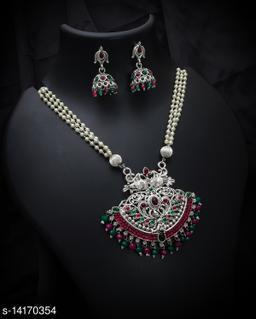 Shringar Vintage Alloy Jewellery Set For Stylish Women