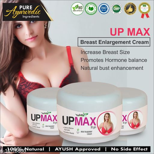 Breast Creams Up Max Herbal Cream For Helps To Fit Your Breat 100% Ayurvedic Product Name: Up Max Herbal Cream For Helps To Fit Your Breat 100% Ayurvedic Multipack: 1 Country of Origin: India Sizes Available: Free Size    Catalog Name:  Superior Perfect Radiance Lotion & Creams CatalogID_2808526 C164-SC2012 Code: 339-14178800-