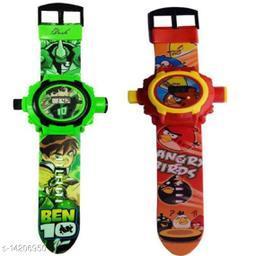 Buy Ben10 Kids Watch Get Angry Birds Watch Free Kids Watch