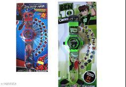 Buy Spider Man Kids Watch Get Ben10 Watch Free Kids Watch
