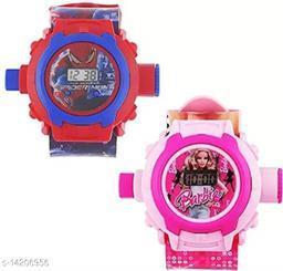 Buy Spider Man Get Barbie Watch Free Kids Watch