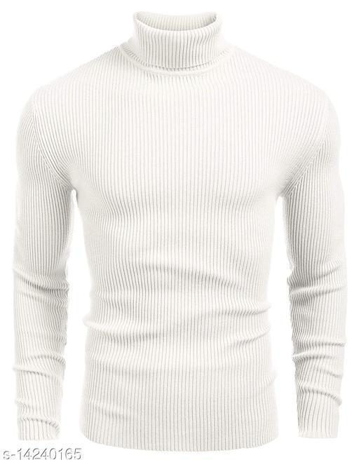 Men's Cotton Turtle Neck Sweater