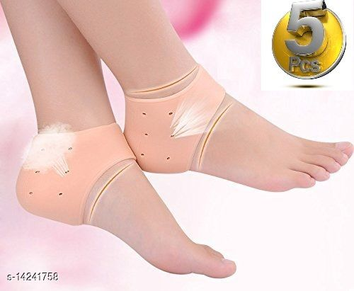 5 Pair Silicone Heel Socks For Pedicure Against Cracking Chap Pain Protector Moisturizing Breathable Anti Crack Socks