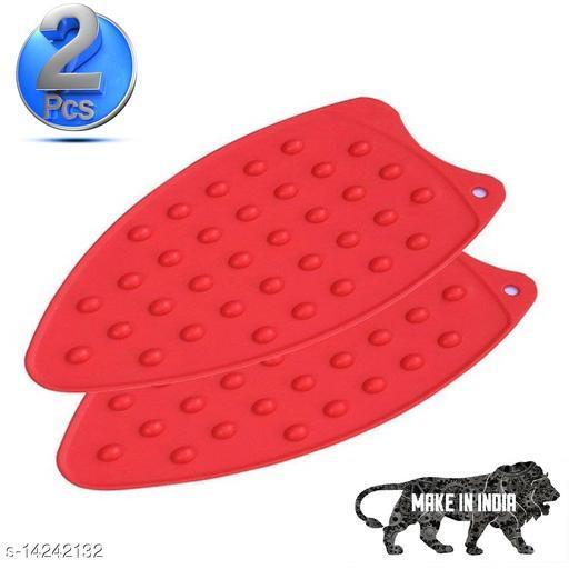 2 Pcs Silicone Iron Mat Pad | High Heat Resistant Iron Insulation Pad, 27x14 cm
