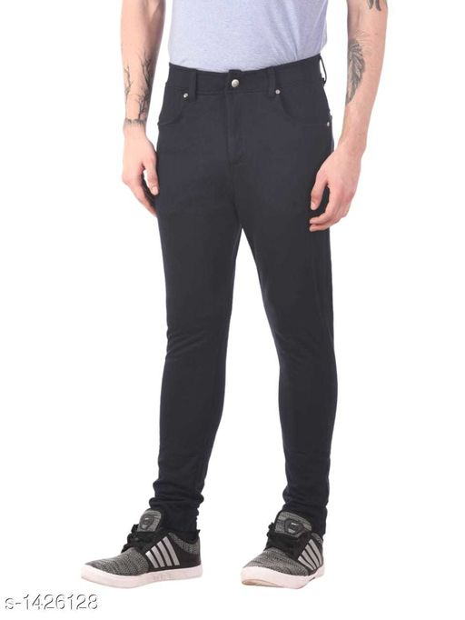 Comfy PolyCotton Solid Trouser