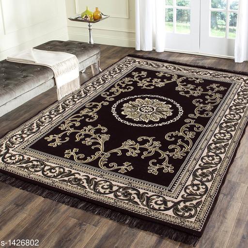 Trendy Jacquard Weaved Room Carpet
