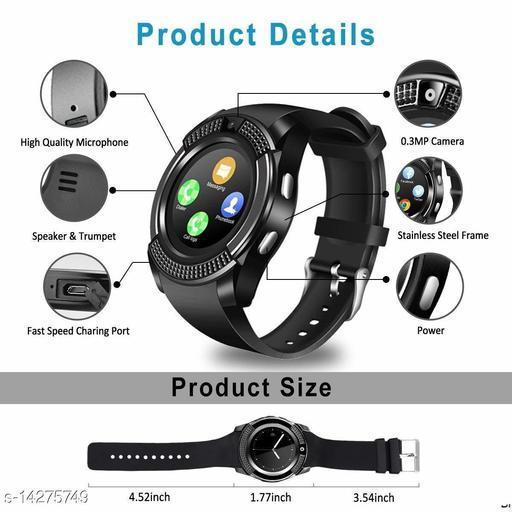 V8 Smart Watch-2
