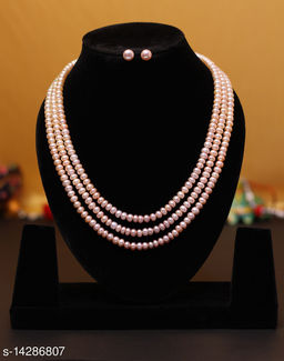 Natural Fresh Water Pearls with Certificate