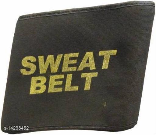 Shopeleven Sweat Slim Belt Free Size Fat Burning Sauna Hot Shaper Waist Trimmer Weight Loss, Lower Back Posture(Free Size)