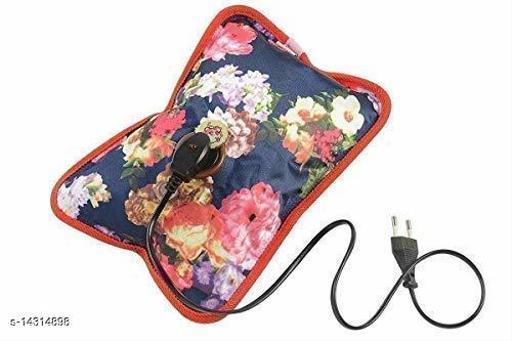 Electric Gel Bottle Pouch Massager Hot Water Bag (Multicolour)