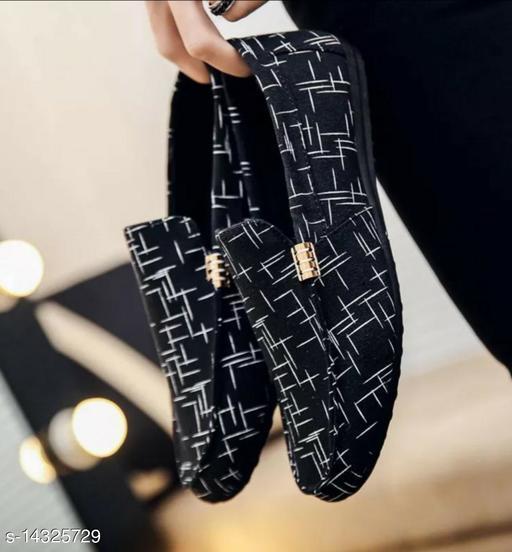 Unique Men's Black Casual Shoes