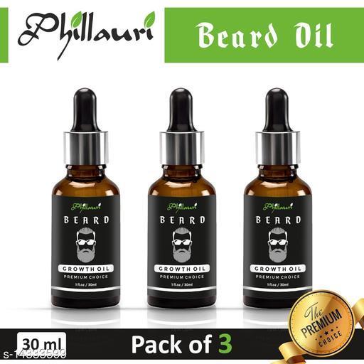 Beard oil 100% Effective in 15 days Herbal oil pack of 3