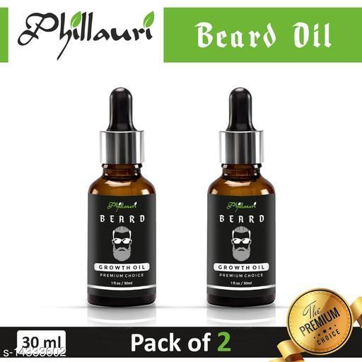 Beard oil 100% Effective in 15 days Herbal oil pack of 2
