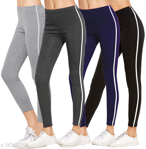 Women's jegging combo Pack Of 4_leggings tights for women